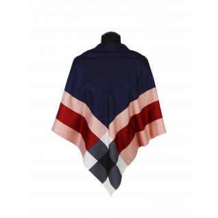 Платок большой, шелковый с каймой Цвет #9