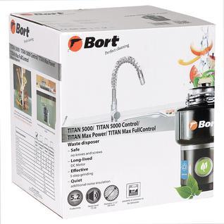 Измельчитель пищевых отходов Bort TITAN 5000 (91275783)