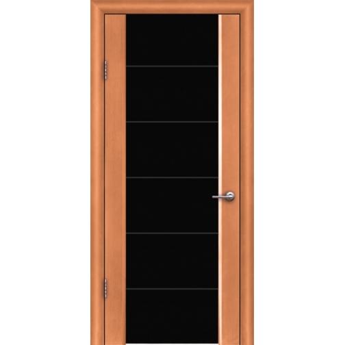 Дверь ульяновская шпонированная Кассандра со стеклом триплекс 49376 1