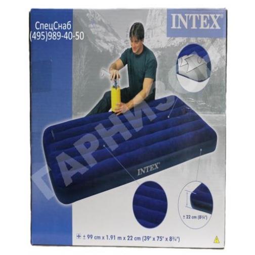 Надувной матрас Intex(без насоса) 0,99х1,91х0,22 11344