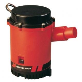 Johnson Pump Помпа трюмная высокопроизводительная Johnson Pump Heavy Duty Bilge L1600 32-1600-02 24 В 3,5 А 100 л\мин 29/38 мм