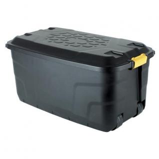 Ящик пластмассовый 145 л, цвет черный