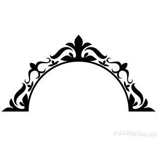 Трафарет виниловый ЗЕРКАЛО-1 (арт. THY-015) для декорирования поверхностей