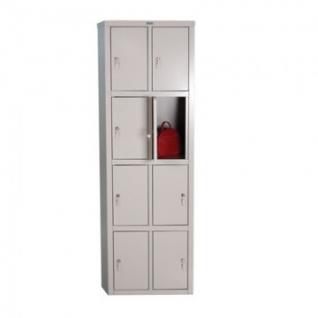 Шкаф для сумок ПРАКТИК LS-24, 8 дв. 575х500х1830