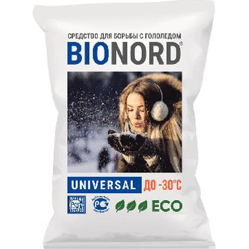 Реагент противогололедный Bionord Universal до -31С 23кг 42469609
