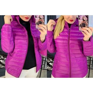 Весенняя женская стёганая куртка большого размера р.46-62