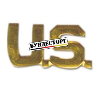 Значок Kragenspiegel US (Letters) золото