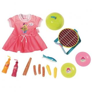 Аксессуары для куклы Zapf Creation Zapf Creation Baby born 824-733 Бэби Борн Набор для барбекю