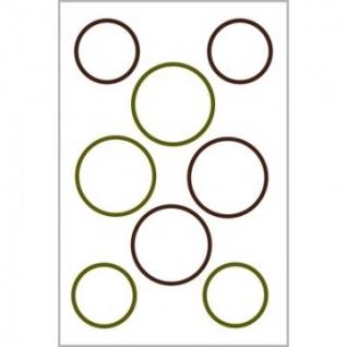 Этикетки самоклеящиеся 62008 Living, для банок, белые, 47,5 х 73 мм,