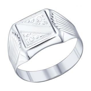 Серебряное кольцо SOKOLOV 94011505 94011505 SOKOLOV
