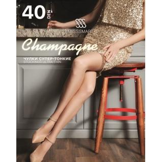 Misssmart Чулки женские. Champagne 40 den