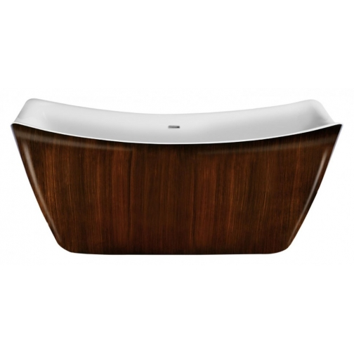 Отдельно стоящая ванна LAGARD Meda Brown wood 6944883