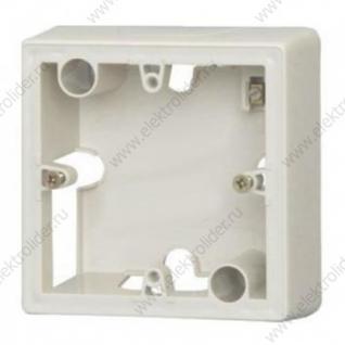 Коробка для накладного монтажа 1 постовая Белая Legrand Valena 776181