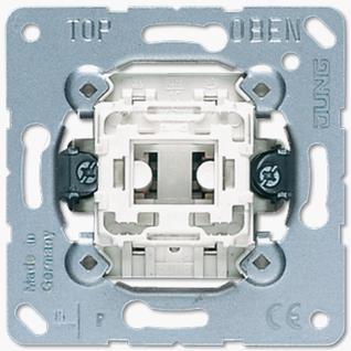 Механизм выключателя Jung 501U одноклавишный 10А балансирный однополюсный