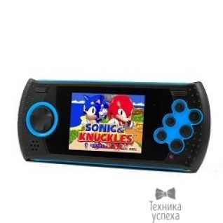 "Sega SEGA Genesis Gopher Wireless LCD 2.8"", ИК-порт + 370 игр + SD карта (синий)"