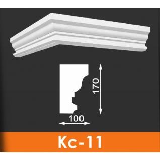 Карниз художественный фасадный под кровлю Кс-11 170*100