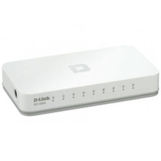 Коммутатор D-Link DES-1008C/A1A, неуправляемый, 8x10/100BASE-TX, пластик.корпус ...