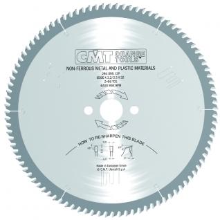 Пильный диск CMT по цветным металлам и пластикам 400x32x3,8/3,2 5є TCG Z=96 284.096.16P