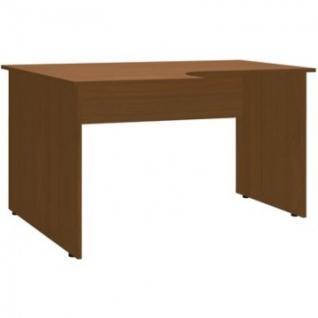 Мебель ЭКО Стол эргоном левый 1402 (748) орех