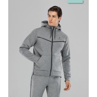 Мужская спортивная толстовка Fifty Balance Fa-mj-0103, серый размер S