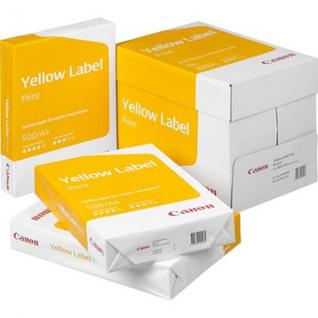 Бумага для ОфТех Canon Yellow Label Print (А4,80г,146%CIE) пачка 500л.