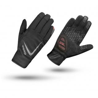 Велоперчатки зимние GripGrab Cloudburst, L, Black