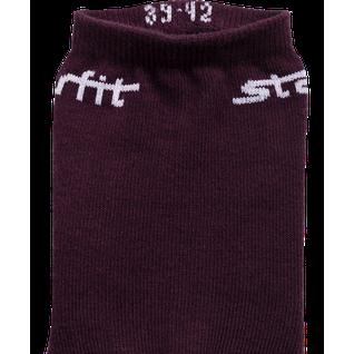 Носки средние Starfit Sw-206, бордовый/светло-розовый, 2 пары размер 39-42