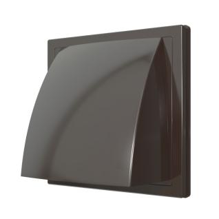 Решетка с козырьком ERA 1515К10ФВ коричневая (20шт/уп)