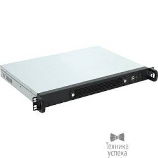 """Procase Procase UM130-B-0, Корпус 1U rear/front-access server case, черный, без блока питания, глубина 300мм, MB 9.6""""x9.6"""""""