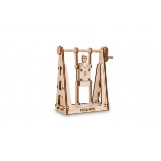 Сборные модели EWA Деревянный конструктор 3D SPORTSMAN (спортсмен)