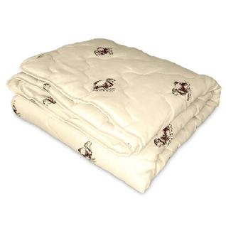 Одеяло Miotex 140х205 Овечья шерсть, летнее(МШПЭ-15-1