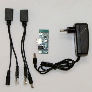 Комплект для организации пассивного POE питания роутера TL-MR 3020 Antex