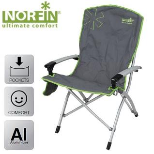 Кресло складное Norfin ULVILA NF алюминиевое SALMO