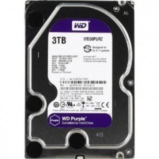 Жесткий диск WDC SATA 3TB 6GB/S 64MB PURPLE (WD30PURZ)