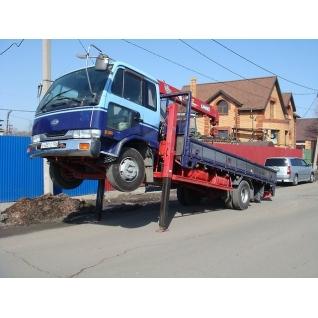 Японский грузовик эвакуатор Nissan Diesel