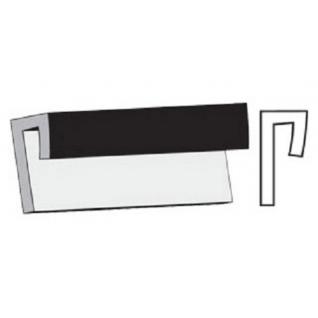 Галтель окантовочная для листовых панелей 3мх3,5мм, белая GRACE