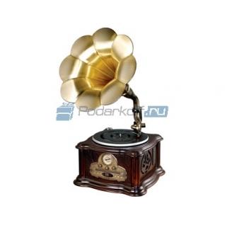 Граммофон-ретро+радио+CD/MP3/USB PLAYER