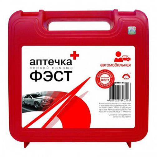 Аптечка автомобильная ФЭСТ (новый состав) (полистирол) 37870748 2