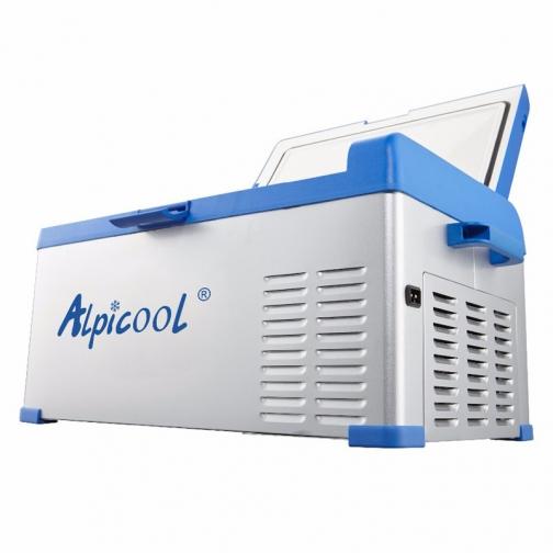 Kомпрессорный автохолодильник ALPICOOL ABS-25 синий (30л, 12/24/220В) 36971684 2