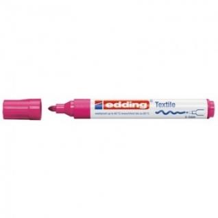 Маркер для текстиля Edding E-4500, ярко красный_019