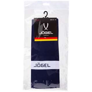 Гетры футбольные Jögel Ja-003, темно-синий/белый размер 38-41