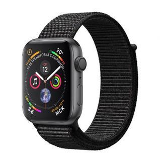 Часы Apple Watch Series 4 GPS 40mm Space Gray Aluminum Case with Black Sport Loop MU672