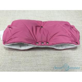Муфта на коляску, цв. розовый Sweet Cocoon