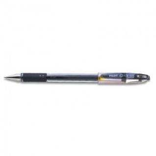 Ручка гелевая PILOT BLN-G3-38 резин.манжет. черная 0,2мм Япония