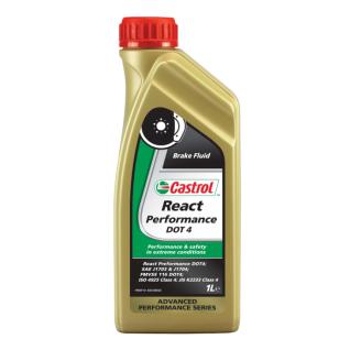 Тормозная жидкость CASTROL Performance DOT 4 1 литр