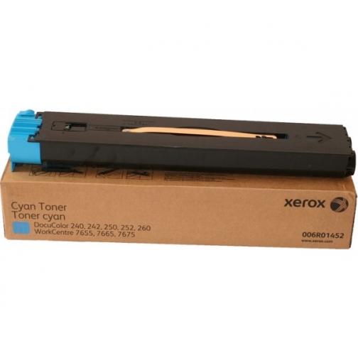 Картридж Xerox 006R01452 для Xerox DocuColor 240, 242, 250, 252, 260, WorkCentre 7655, 7665, 7675, оригинальный, (голубой, 34000 стр., 2 шт.) 1142-01 852206
