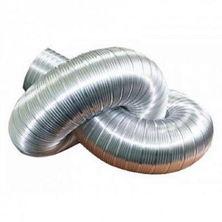 Воздуховод алюминиевый гофрированный Д -125 L - до 3 м Виенто