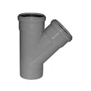 Тройник канализационный 32х32х32х45 с кольцом