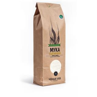Мука пшеничная тонкого помола БИО, пакет 1 кг