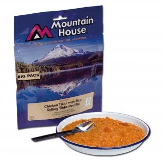 Куриная грудка Mountain House Tikka с рисом, большая упаковка